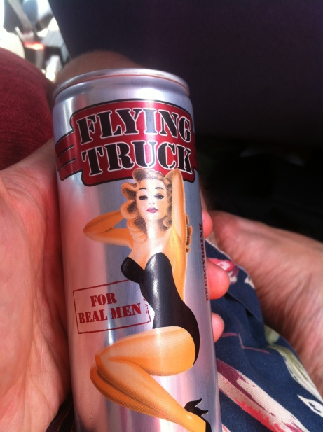 My personal favourite of a heart-palpitating roster of energy drinks we drank on the road.